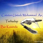 Catatan Al Ustad Muhammad As sewed