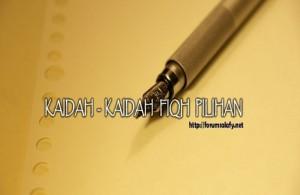 Kaidah2Fiqhpilihan
