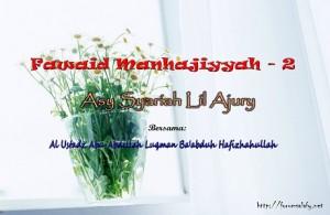 fawaidmanhajiyyah2b