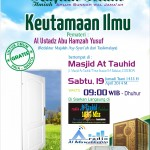 19 JUMADITS-TSANI 1435 H_CIREBON_KEUTAMAAN ILMU(1)