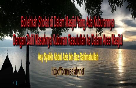 Memasukkan Kuburan Kedalam Masjid1