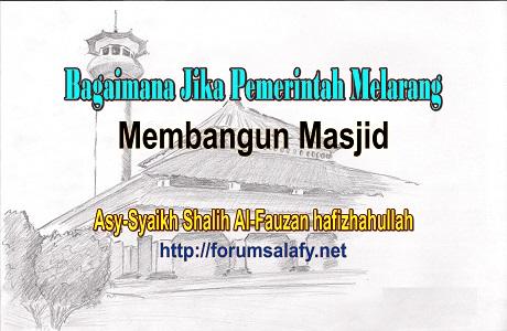 Larangan Membangun Masjid1