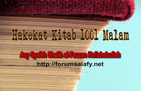 Hakekat Kitab 1001 Malam1