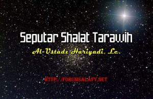 Seputar Shalat Tarawih1