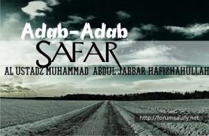 Adab-adab Safar