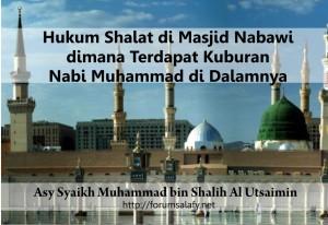 hukum shalat di masjid nabawi