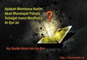 membaca hadist