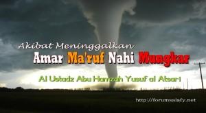 Meninggalkan Amar Maruf nahi mungkar