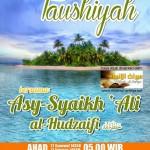 Taushiyah Syaikh Ali-1435H