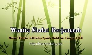 Wanita Shalat Berjamaah