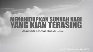 Menghidupkan Sunnah Nabi