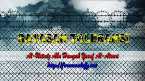 Batasan Toleransi