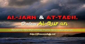 Al-Jarh wa At-Ta'dil dalam Al-Qur'an