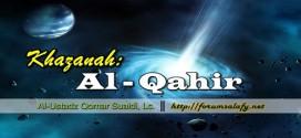 """Khazanah: """" Al – Qahir """""""