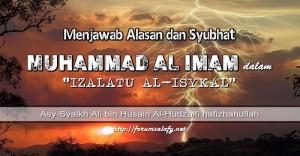 Menjawab Alasan dan Syubhat Muhammad al Imam