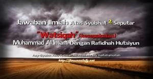 Jawaban Ilmiah Atas Syubhat Muhammad Al Imam2