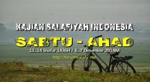 Kajian Sabtu Ahad_13-14Shafar1436H