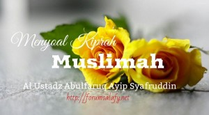 Menyoal Kiprah Muslimah