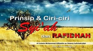 Prinsip dan Ciri-ciri Syi'ah dan rafidhah
