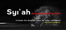 Syi'ah dan Kemaksuman Para Imam
