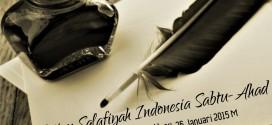 Audio: Kajian Salafiyyah Indonesia – 03-04 Rabi'uts Tsani 1436H