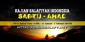 Kajian Sabtu Ahad10-11Rabi'ul Tsani
